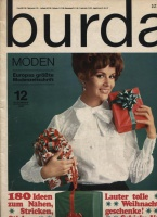 Журнал BURDA MODEN 1967 12