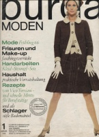 Журнал BURDA MODEN 1966 01