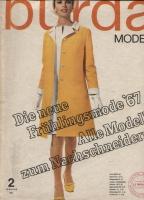 Журнал BURDA MODEN 1967 02