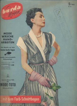 Журнал BURDA MODEN 1953 5