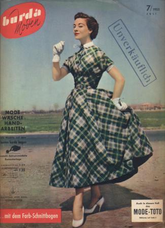 Журнал BURDA MODEN 1953 7