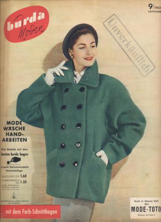 Журнал BURDA MODEN 1953 9