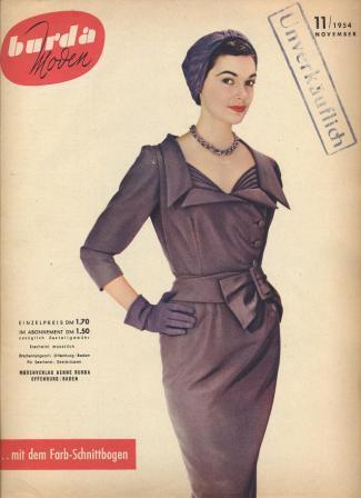 Журнал BURDA MODEN 1954 11
