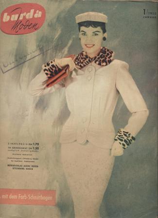 Журнал BURDA MODEN 1955 1