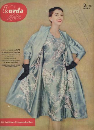 Журнал BURDA MODEN 1955 3