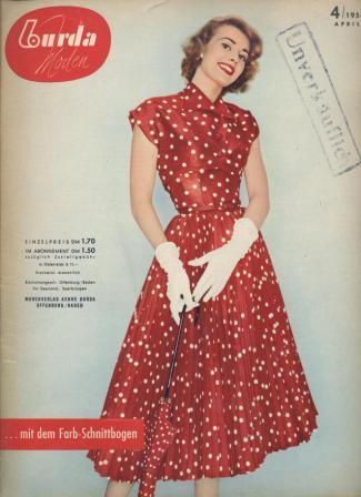 Журнал BURDA MODEN 1955 4