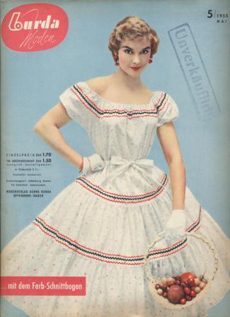 Журнал BURDA MODEN 1955 5