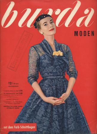 Журнал BURDA MODEN 1955 12
