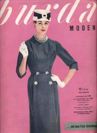 Журнал BURDA MODEN 1956 11