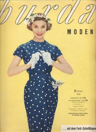 Журнал BURDA MODEN 1957 5