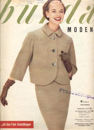 Журнал BURDA MODEN 1957 9
