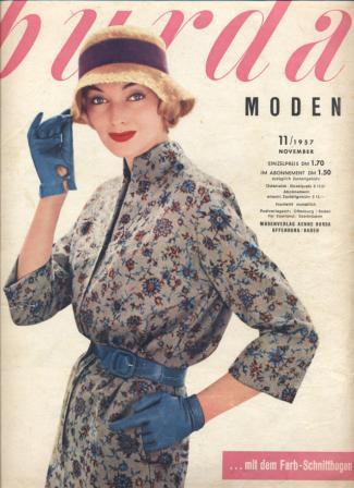 Журнал BURDA MODEN 1957 11