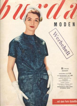 Журнал BURDA MODEN 1958 8