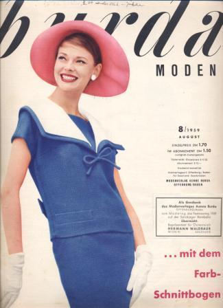 Журнал BURDA MODEN 1959 8