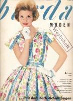 Журнал BURDA MODEN 1960 6