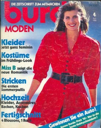 Журнал BURDA MODEN 1988 4