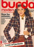 Журнал BURDA MODEN 1980 9