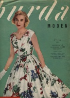 BURDA MODEN 1956 07 (июль)