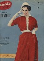 BURDA MODEN 1954 08 (август)