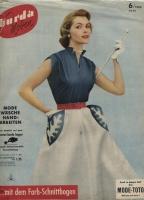 BURDA MODEN 1953 06 (июнь)