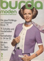 Журнал BURDA MODEN 1971 2