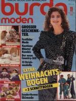 Журнал BURDA MODEN 1986 11