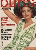 Журнал BURDA MODEN 1968 07