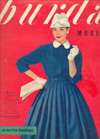Журнал Burda Moden 1956 8