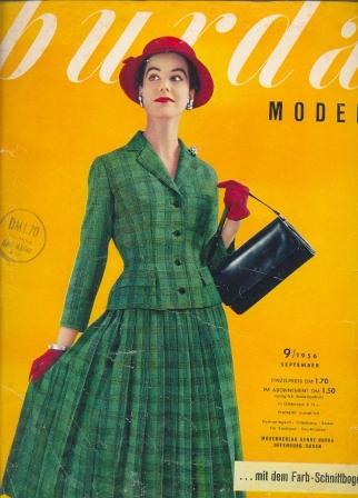 Журнал Burda Moden 1956 9