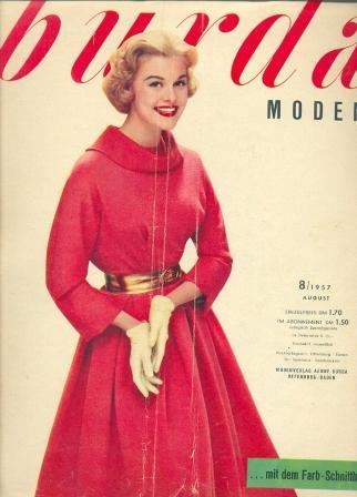 Журнал Burda Moden 1957 8