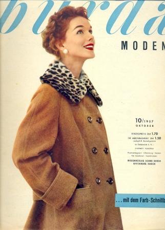 Журнал Burda Moden 1957 10