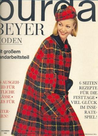 Журнал Burda Moden 1963 12