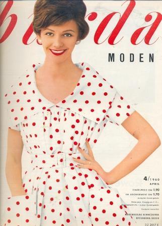 Журнал Burda Moden 1960 4