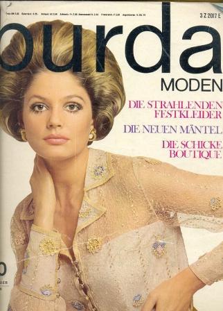 Журнал BURDA MODEN 1968 10