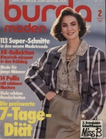 Журнал BURDA MODEN 1986 2