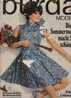 Журнал BURDA MODEN 1968 4