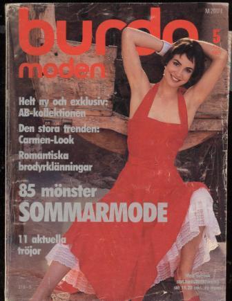 Журнал BURDA MODEN 1985 5