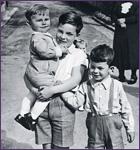 Франц (11 лет), Фридер (7 лет) и Хуберт (3 года)