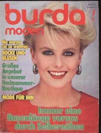 Журнал BURDA MODEN 1983 7