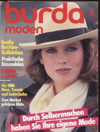 Журнал BURDA MODEN 1983 9