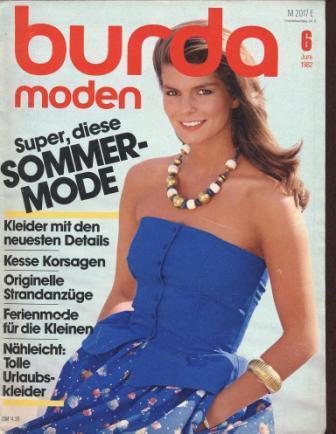 Журнал BURDA MODEN 1982 6