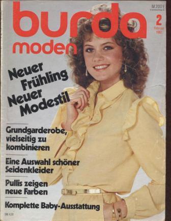 Журнал BURDA MODEN 1982 2