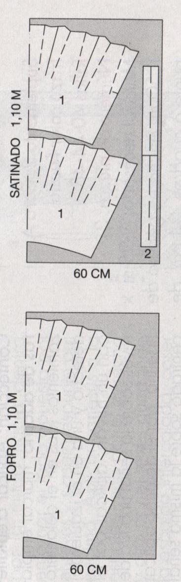PATRONES №296 ESPECIAL OTONO/INVIERNO 2010 сентябрь модель 5.  Мини-юбка полусолнце MANGO. Схема раскроя