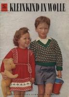 Schwabe Der neue Schnitt Sonderheft 3030 Kleinkind in wolle 1958 (вязание для детей)
