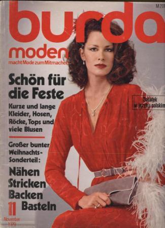 Журнал BURDA MODEN 1979 11
