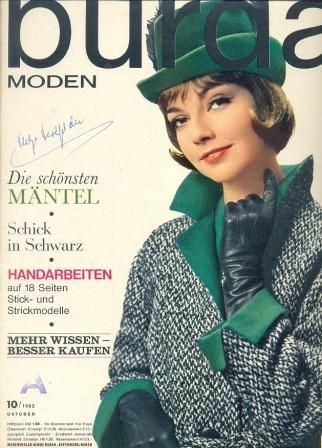 Журнал BURDA MODEN 1962 10