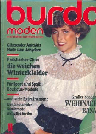 Журнал BURDA MODEN 1977 11