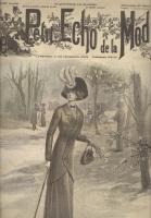 Журнал мод Le Petit Echo de la Mode 1910 №13 Париж