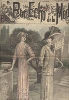 Журнал мод Le Petit Echo de la Mode 1910 №29 Париж
