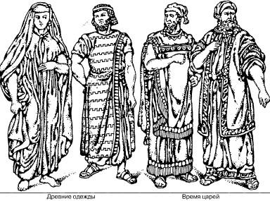Одной из самых древних и простых одежд был кусок льняного или  хлопчатобумажного полотна, обвиваемый вокруг чресел и достигавший колен, и  это единственная ... db9a79d8a30